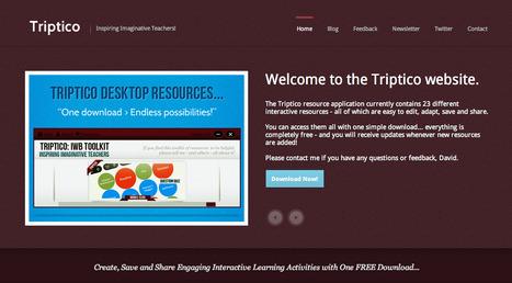 Triptico - Inspring Imaginative Teachers | Al calor del Caribe | Scoop.it