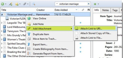 How to link to a Dropbox file from Zotero | Zotero | Scoop.it