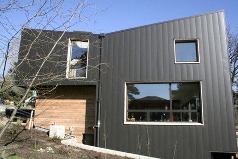 No Net Energy, No Net Water, No Waste In Portland [PHOTOS] | EarthTechling | Passive House + Net Zero Energy Homes | Scoop.it