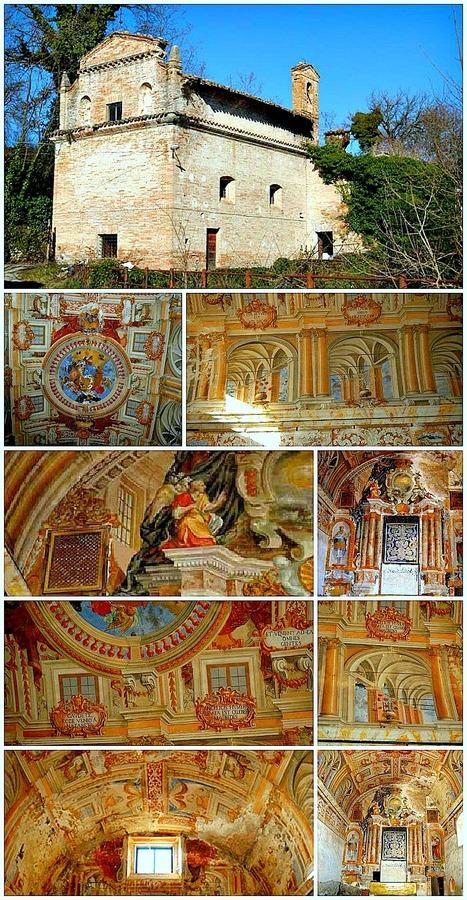 Secret Treasures of Le Marche: Chiesa della Madonna di Loreto, Sarnano | Le Marche another Italy | Scoop.it