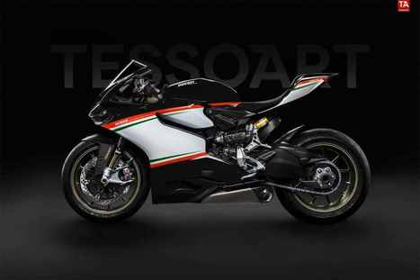 Superleggera Tricolore Nero by Tessoart | Ducati news | Scoop.it
