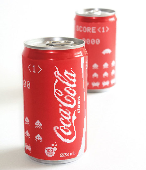 Coca Cola Space Invader Edition | All Geeks | Scoop.it