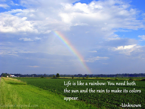 Rainbow in the countryside | The Muse | Scoop.it