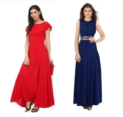 c0486f02347 Maxi Dresses - Buy Maxi Dresses/Long Dresses Online For Women at Best  Prices In India | Flipkart.com