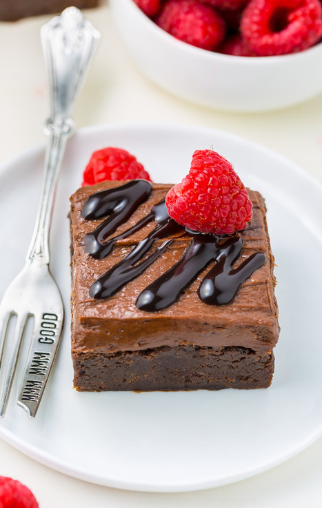 Raspberry Truffle Brownies - Baker by Nature | Passion for Cooking | Scoop.it