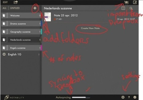 Autosyncing Notability and Dropbox. | ipadders.eu | Literacy and iPads | Scoop.it