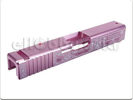 Guarder CNC G19 Slide Valentine Rose | Popular Airsoft | Airsoft Showoffs | Scoop.it