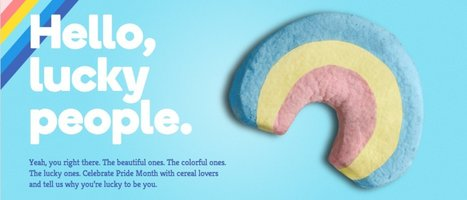 Lucky Charms, General Mills Cereal, Celebrates LGBT Pride With #LuckyToBe ... - Huffington Post | Social Media LGBT | Scoop.it