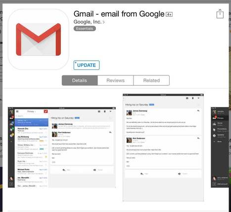 Google Releases Gmail 4.0 for iOS 8 Added Useful Features   TechConnectPH News   Scoop.it