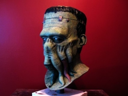Awesome geekcraft of the day: Frankenthulhu mask ... | Conception | Scoop.it