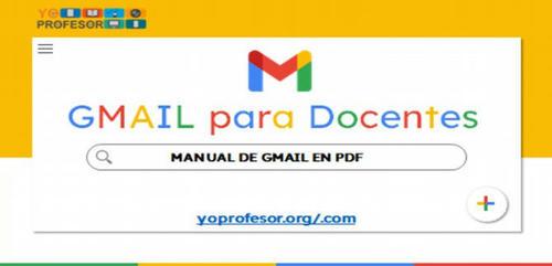 MANUAL DE GMAIL PARA DOCENTES (en PDF)