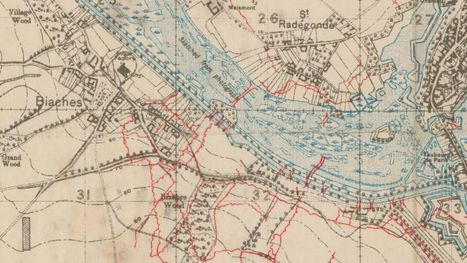 Cartes Militaires 1914-1918 France et Belgique du Ministère de la Guerre Britannique   Military Maps - National Library of Scotland   Nos Racines   Scoop.it