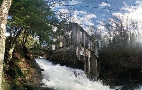 Carbide Ruins Gatineau Park Quebec  album in comments | Modern Ruins | Scoop.it
