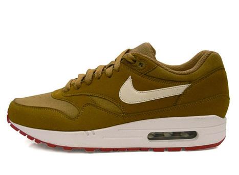 Nike Air Max 1 LAM Brown Kelp White  0d9c93d1eb