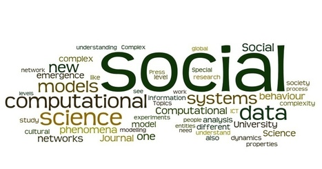FuturICT: Manifesto of computational social science | FuturICT Journal Publications | Scoop.it