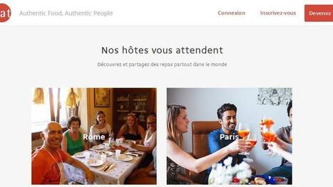 Les Airbnb de la restauration inquiètent le secteur - Le Figaro | Food News | Scoop.it
