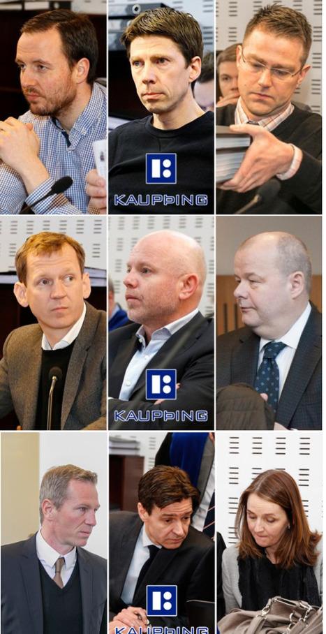 Une raclée méritée : 46 ans de prison confirmés pour neuf grands banquiers islandais | Bankster | Scoop.it