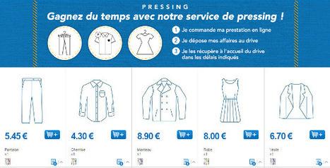 Drive : Leclerc propose un service de pressing / Les actus / LA DISTRIBUTION - LINEAIRES, le magazine de la distribution alimentaire | Distribution et Commerce | Scoop.it