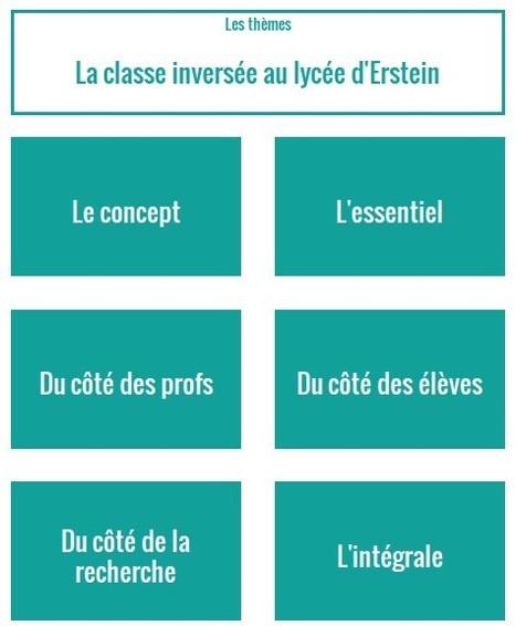 La classe inversée en lycée : webdocumentaire | À l'école au 21e siècle | Scoop.it