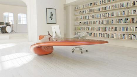 Volna - Table by Nuvist » Yanko Design   Urban Design   Scoop.it