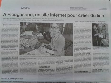 Plougasnou. Un site Internet pour créer du lien (article Ouest-France 08/02/2016) | Pays de Morlaix | Pays de Morlaix | Scoop.it
