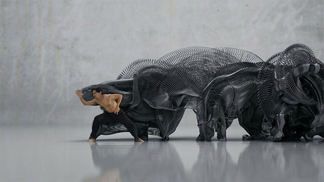 Human Movement Converted Into Digital Sculptures | Cultural News, Trends & Opinions | Scoop.it
