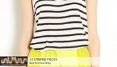 Best summer buys, Striped pieces everyone can wear | Why fashion is necessary | Scoop.it