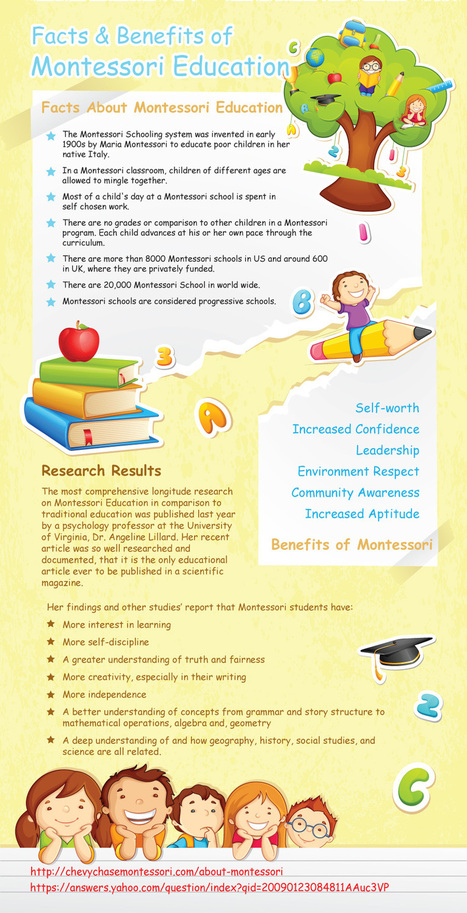 Facts and Benefits of Montessori Education Infographic | we-Learning | Scoop.it