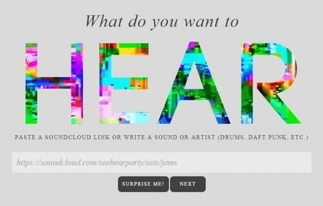 seehearparty, crea tus própios vídeos musicales con gifs animados y música de soundcloud | Educación en Consuegra | Scoop.it