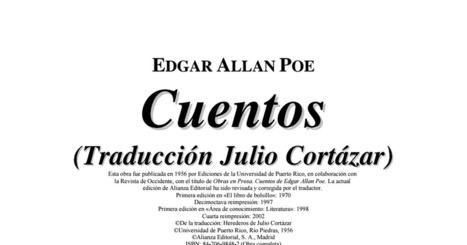 Edgar Allan Poe - Cuentos completos (traducción de Julio Cortázar)..pdf | microrrelatos | Scoop.it