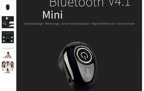 Bluetooth' it Oreillette SUPER in PLANSScoop BONS m0v8ONwn