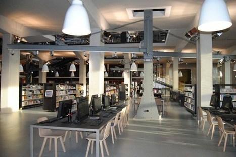 Brest : La nouvelle grande médiathèque, un véritable hub culturel en Bretagne | Médiations numérique | Scoop.it