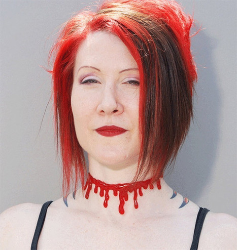 Gory Halloween Costume Jewelry Slits Your Throat or Wrist | All Geeks | Scoop.it