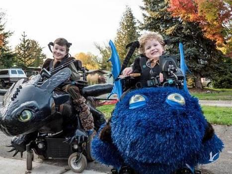 Disfraces para día de muertos en sillas de ruedas: ¿Geniales! | Diversifíjate | Scoop.it