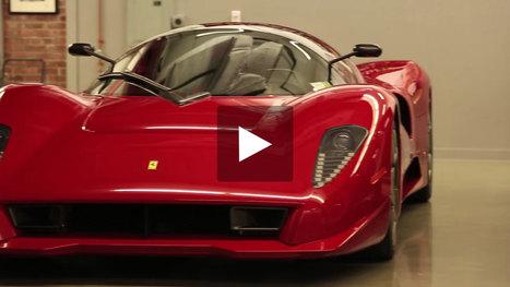 Story Of The Ferrari P45 By Pininfarina Ferr