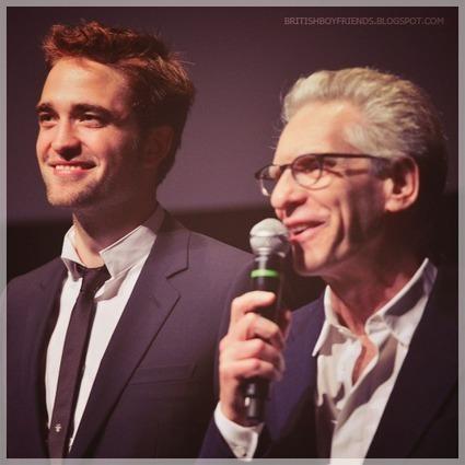 Robert Pattinson & David Cronenberg Cosmopolis Promo | 'Cosmopolis' - 'Maps to the Stars' | Scoop.it