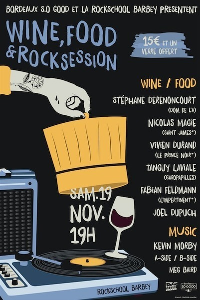 Wine, Food & Rock Session : Kevin Morby - Rock School Barbey | World Wine Web | Scoop.it