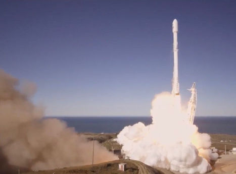 SpaceX Returns to Flight with 10-Satellite Launch, Rocket Landing | More Commercial Space News | Scoop.it