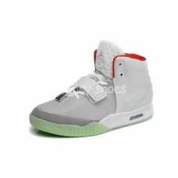 2fed27a4d Nike Air Yeezy 2 Wolf Grey Pure Platinum Mens Shoes for Sale