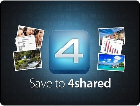 Install our brand-new SAVE TO 4SHARED extension for Google Chrome | 4shared blog | Cibereducação | Scoop.it