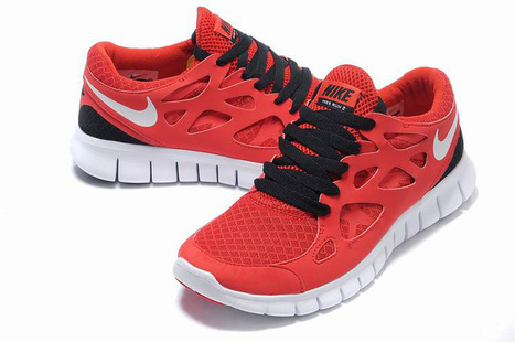 purchase cheap look out for cheap price Nike Free Run 2 Mens Red Black Cheap' in fashion   Scoop.it