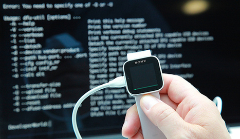 Sony: We're opening up SmartWatch! Create and flash alternative firmware | Nerd Vittles Daily Dump | Scoop.it