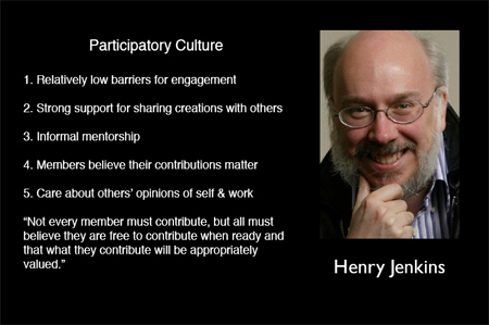 The Art of Participatory Culture – Learning to Play WITH Our Audiences | Participatif | Scoop.it