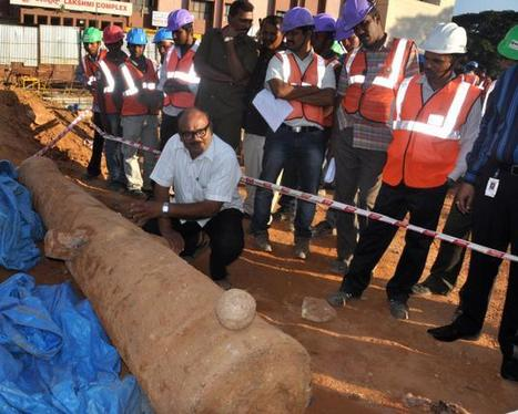 Workers unearth Tipu-British era cannon in Bangalore | Archaeology News | Scoop.it