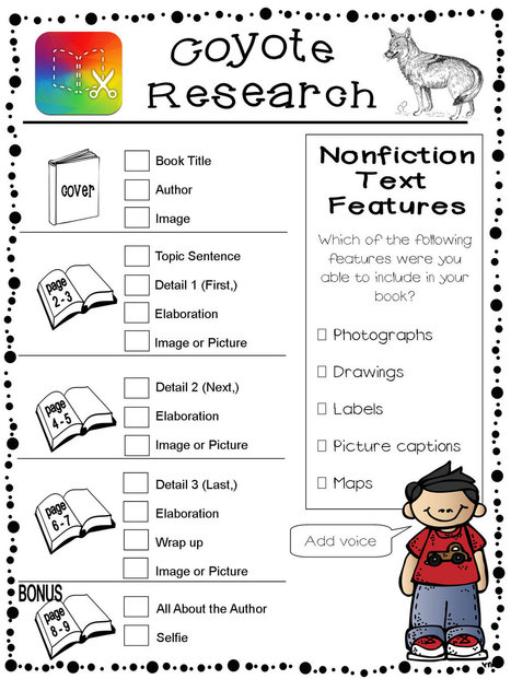 Informational Research and Book Creator - Book Creator app | Blog | iPad Lessons | Scoop.it