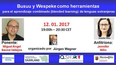 #Webinario: Herramientas para el aprendizaje combinado (blended learning) de lenguas extranjeras | Las TIC en el aula de ELE | Scoop.it