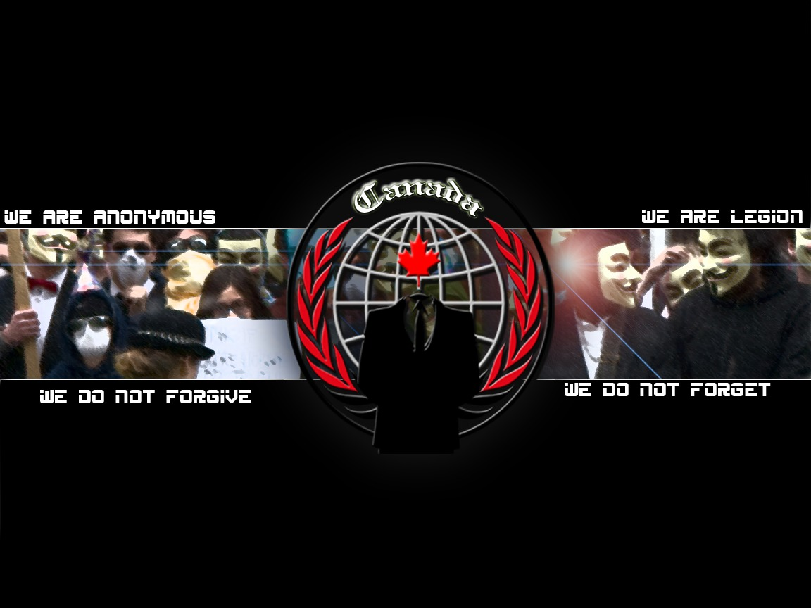 Anonymous Canada #Op Video