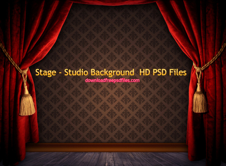 Stage Studio Background Hd Psd Files Free Downl