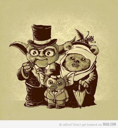 Oui Yoda et un Ewok se sont accouplés | The Black Pool | Scoop.it