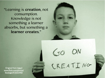 True learning is creative! … iPad,please! | iPads in the Elementary Library | Scoop.it